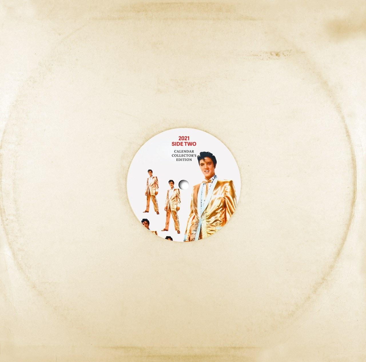 Elvis Presley: Record Sleeve 2021 Calendar - 2