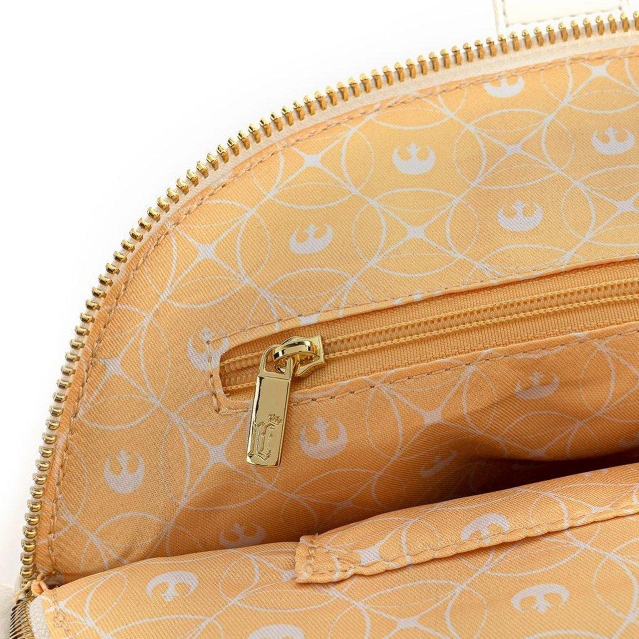Loungefly X Star Wars White Rebel Handle Crossbody Bag - 6