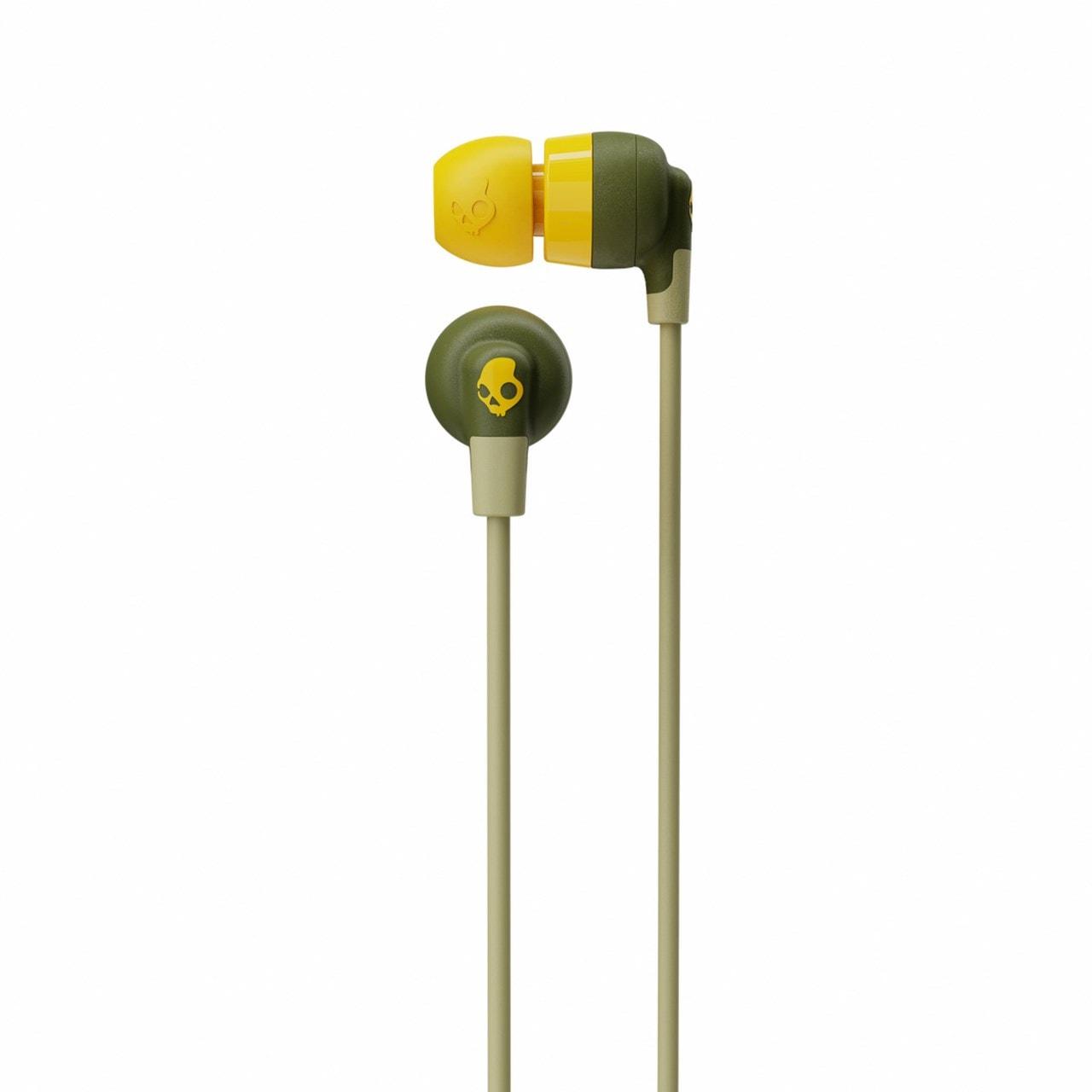 Skullcandy Inkd+ Moss/Olive Bluetooth Earphones - 2
