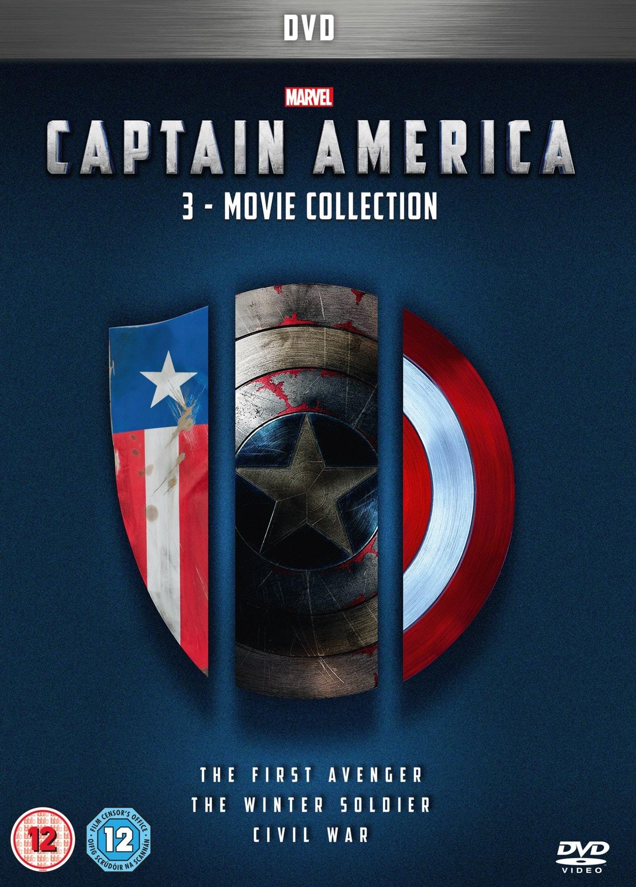 Captain America: 3-movie Collection - 1