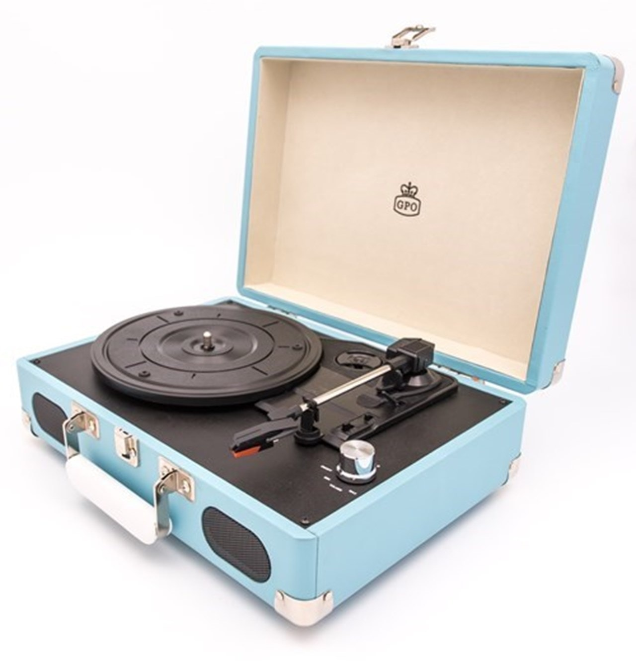 GPO Soho Turquoise Turntable (hmv Exclusive) - 2
