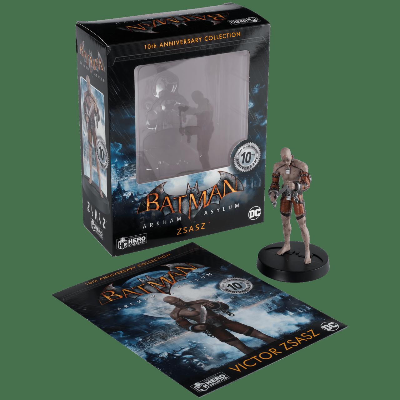 Zsasz Batman Arkham Asylum 1:16 Figurine With Magazine: Hero Collector - 4