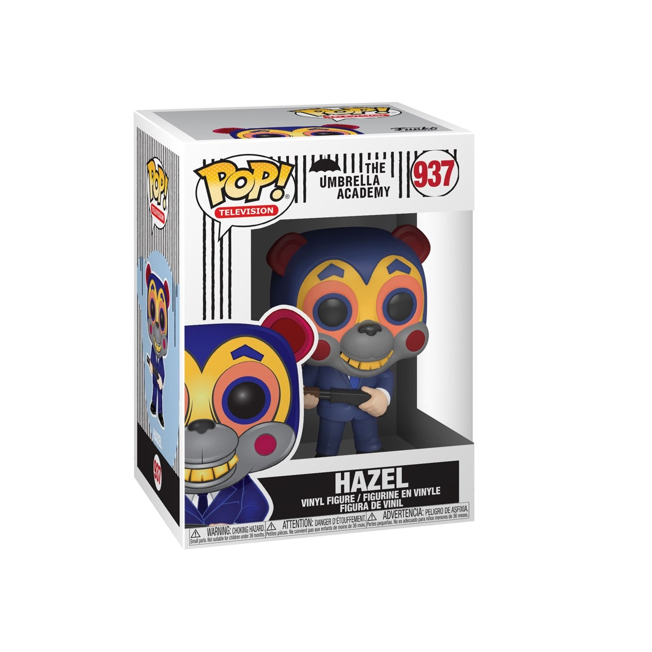 Pop Vinyl: Hazel With Mask (937): The Umbrella Academy - 2