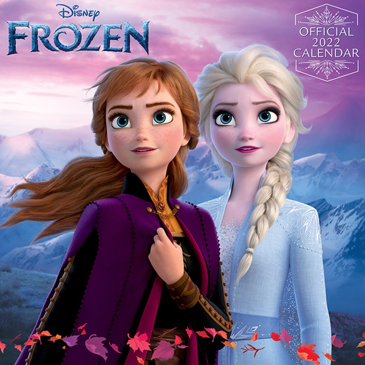 Frozen: Square 2022 Calendar - 1
