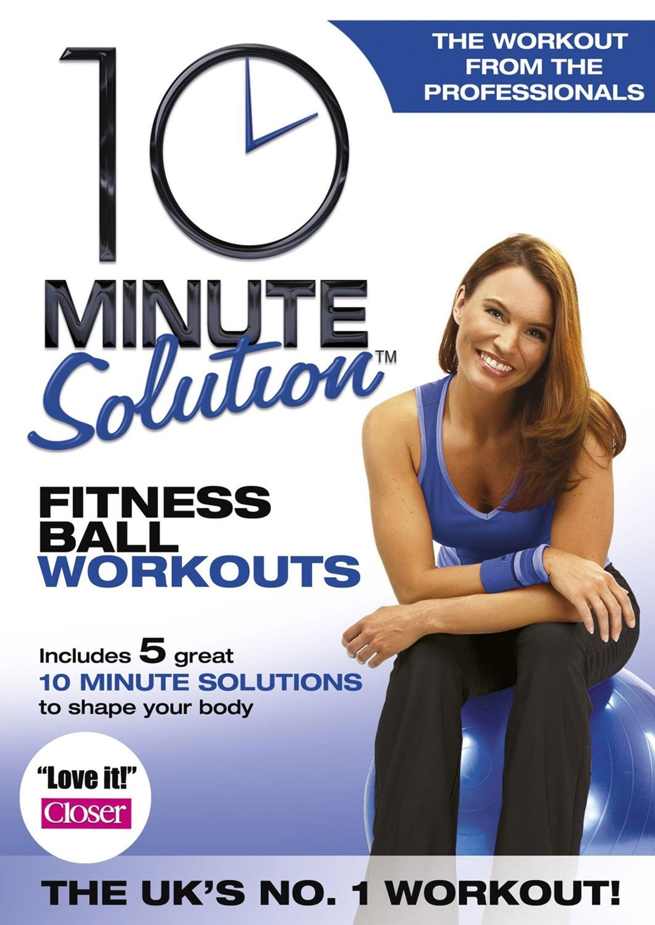 10 Minute Solution: Fitness Ball Workouts - 1