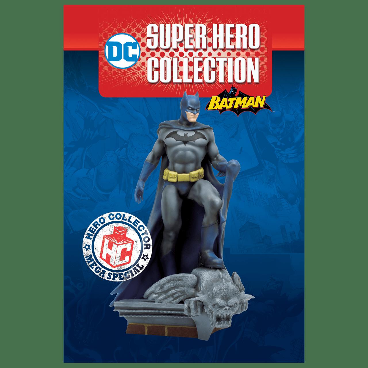 Batman on Roof: DC Mega Figurine: Hero Collector - 6