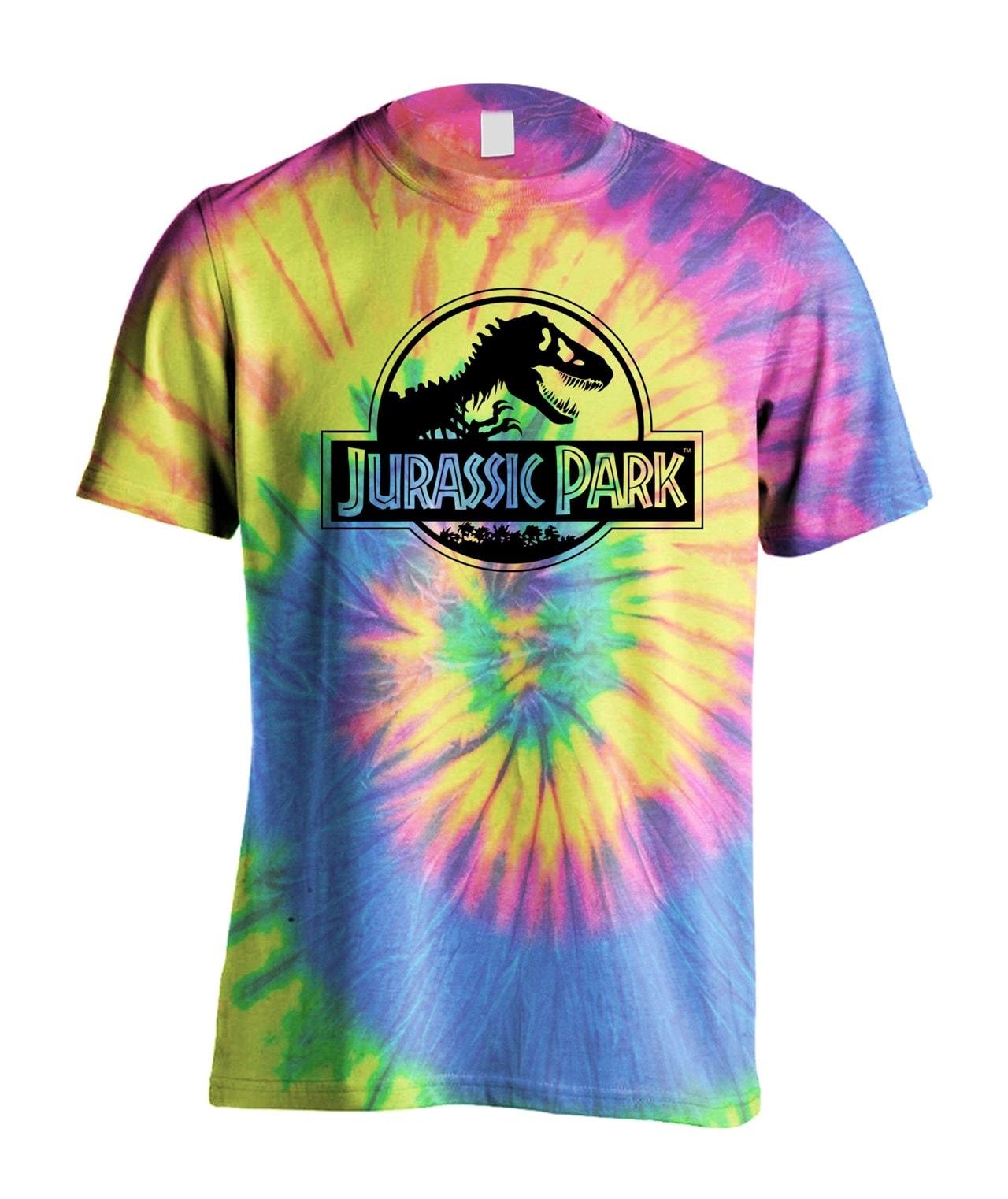 Jurassic Park: Tie Dye Logo: Pretty Vacant Images (hmv Exclusive) (Small) - 1