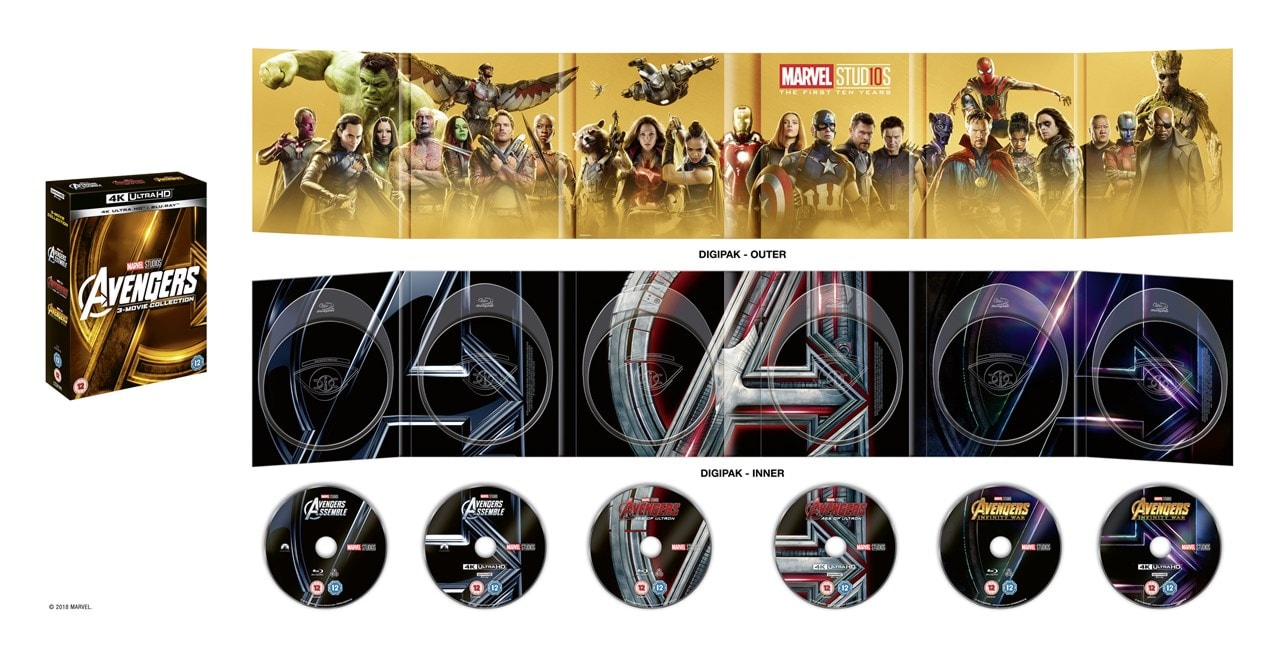 Avengers: 3-movie Collection - 3