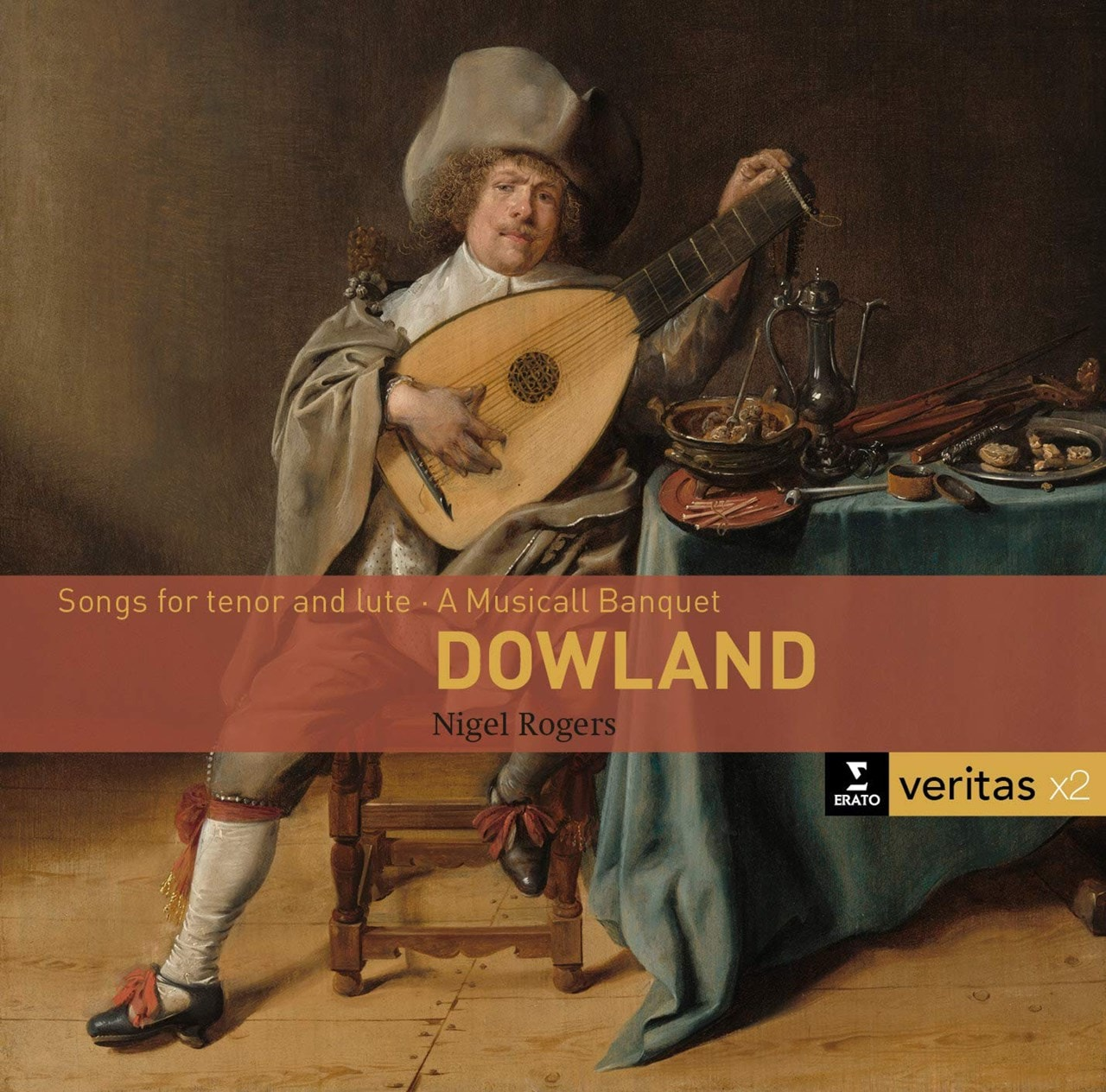 Dowland: Songs for Tenor and Lute/A Musicall Banquet - 1