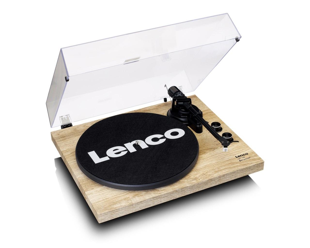 Lenco LBT-188 Pine Bluetooth Turntable - 2