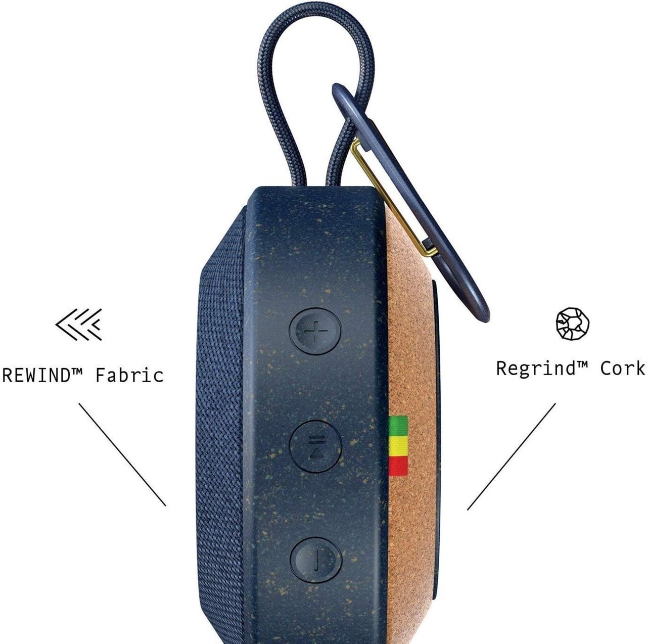 House Of Marley No Bounds Blue Bluetooth Speaker - 2