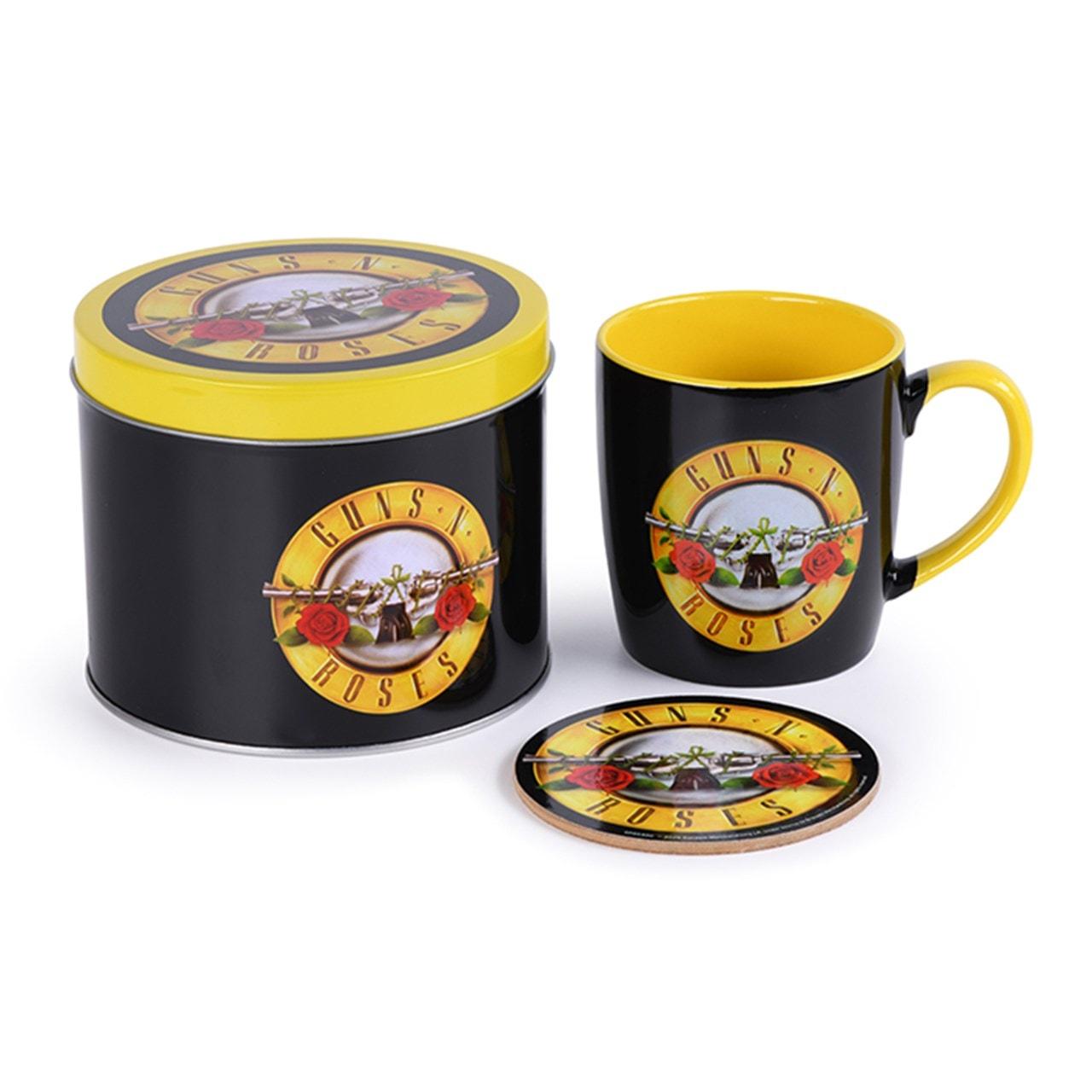 Guns N Roses: Bullet Logo Mug Gift Set in Tin - 2