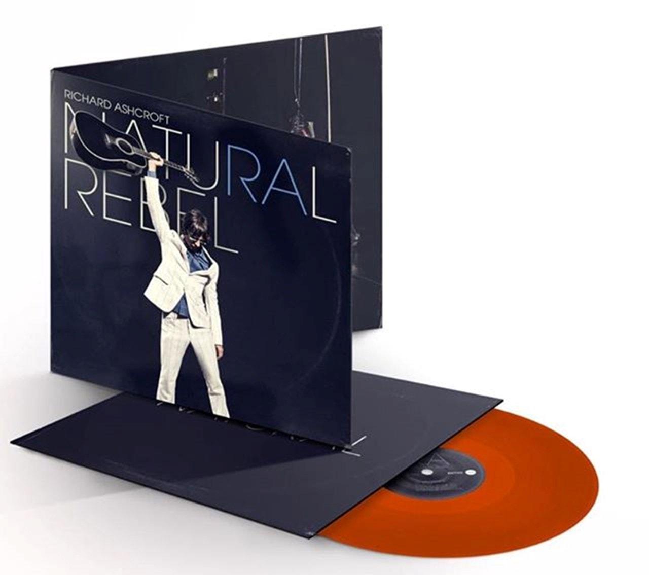 Natural Rebel - Limited Edition Orange Vinyl - 1