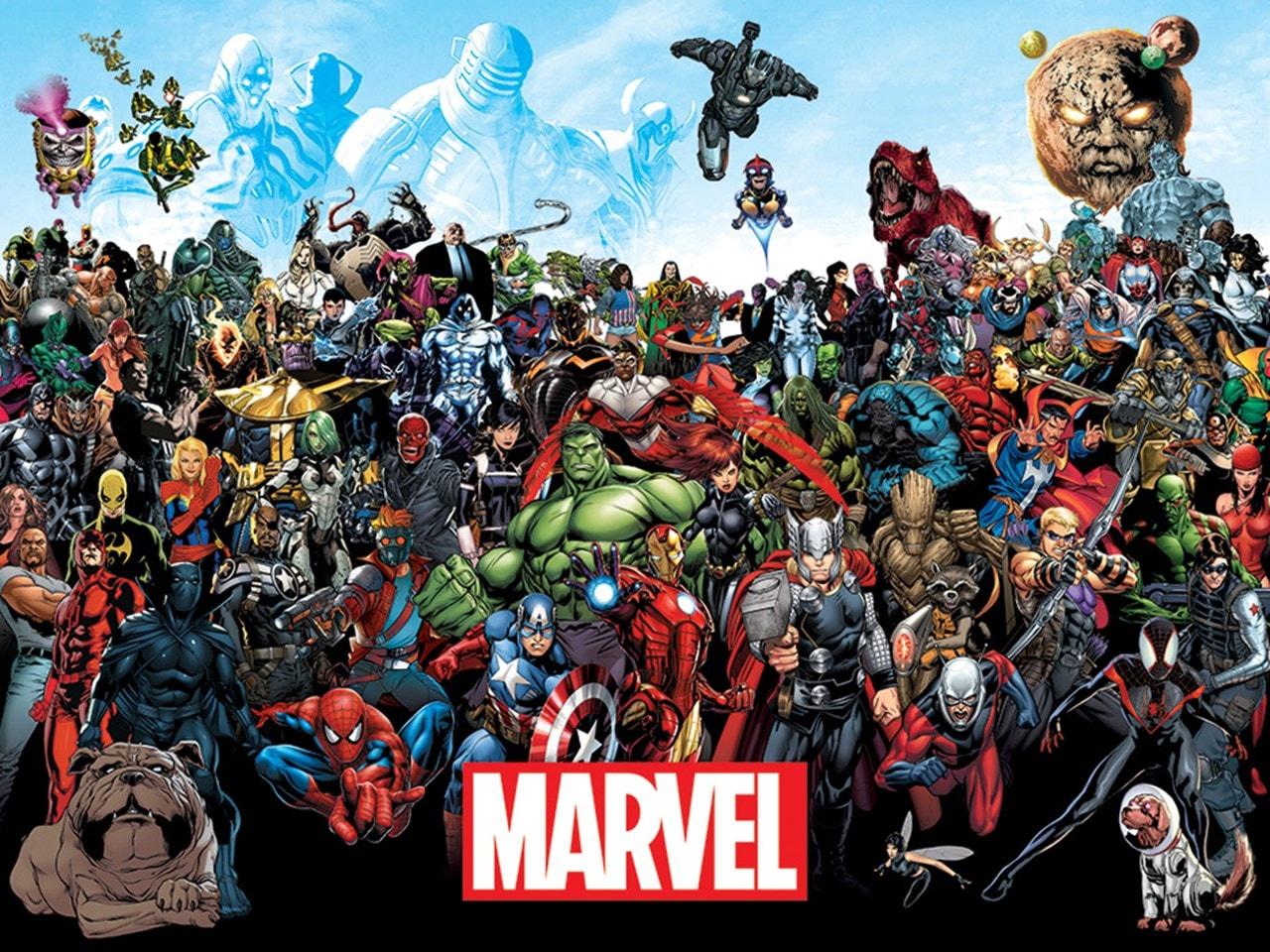 Marvel: Universe Canvas Print - 1
