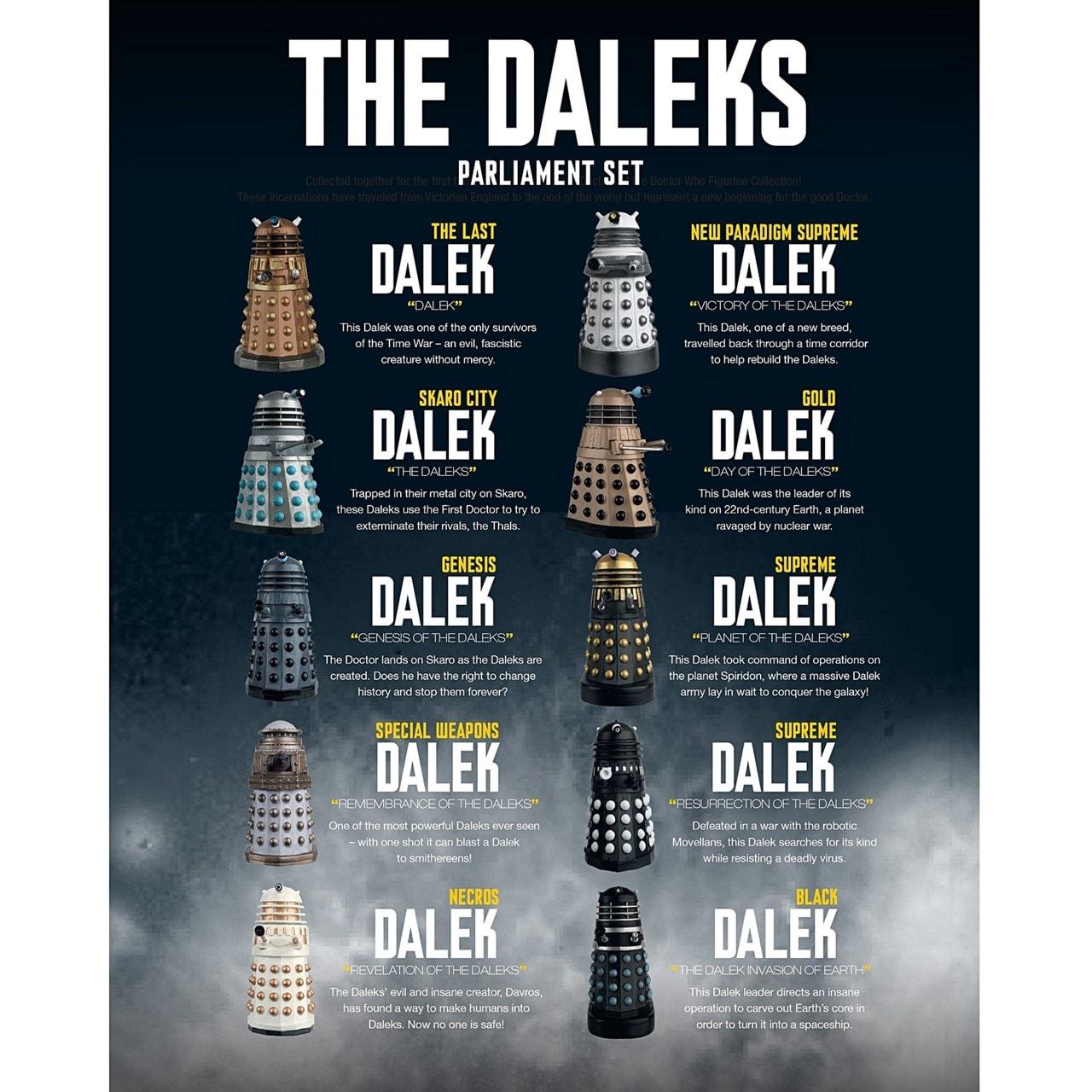 Dalek Parliament: Doctor Who Figurine Set 1: Hero Collector - 2