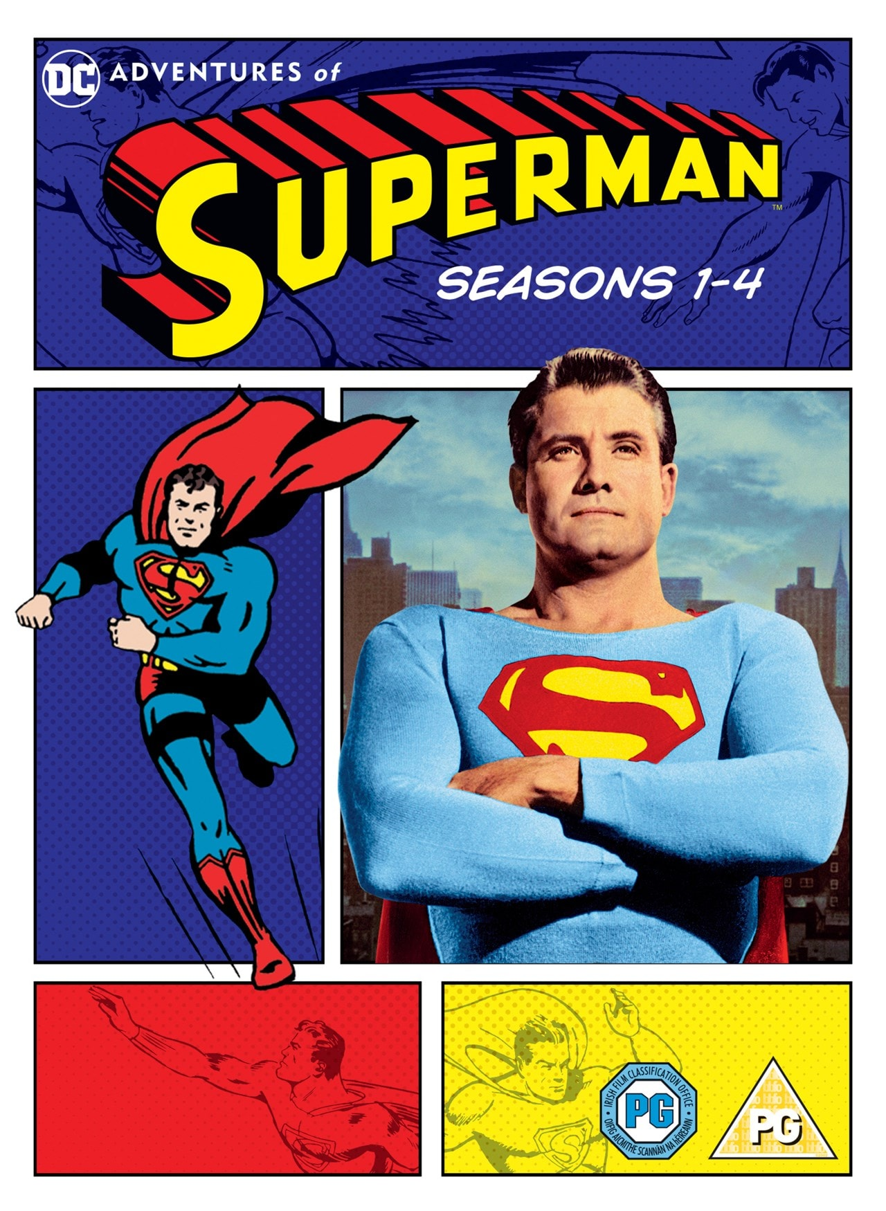 Adventures of Superman: Seasons 1-4 - 1