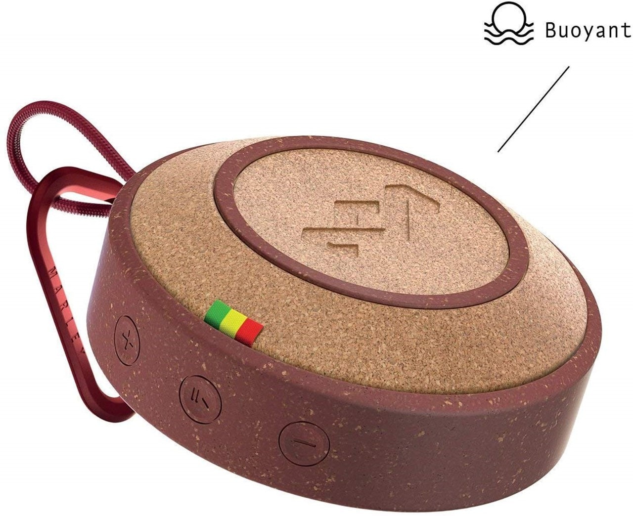 House Of Marley No Bounds Red Bluetooth Speaker - 5