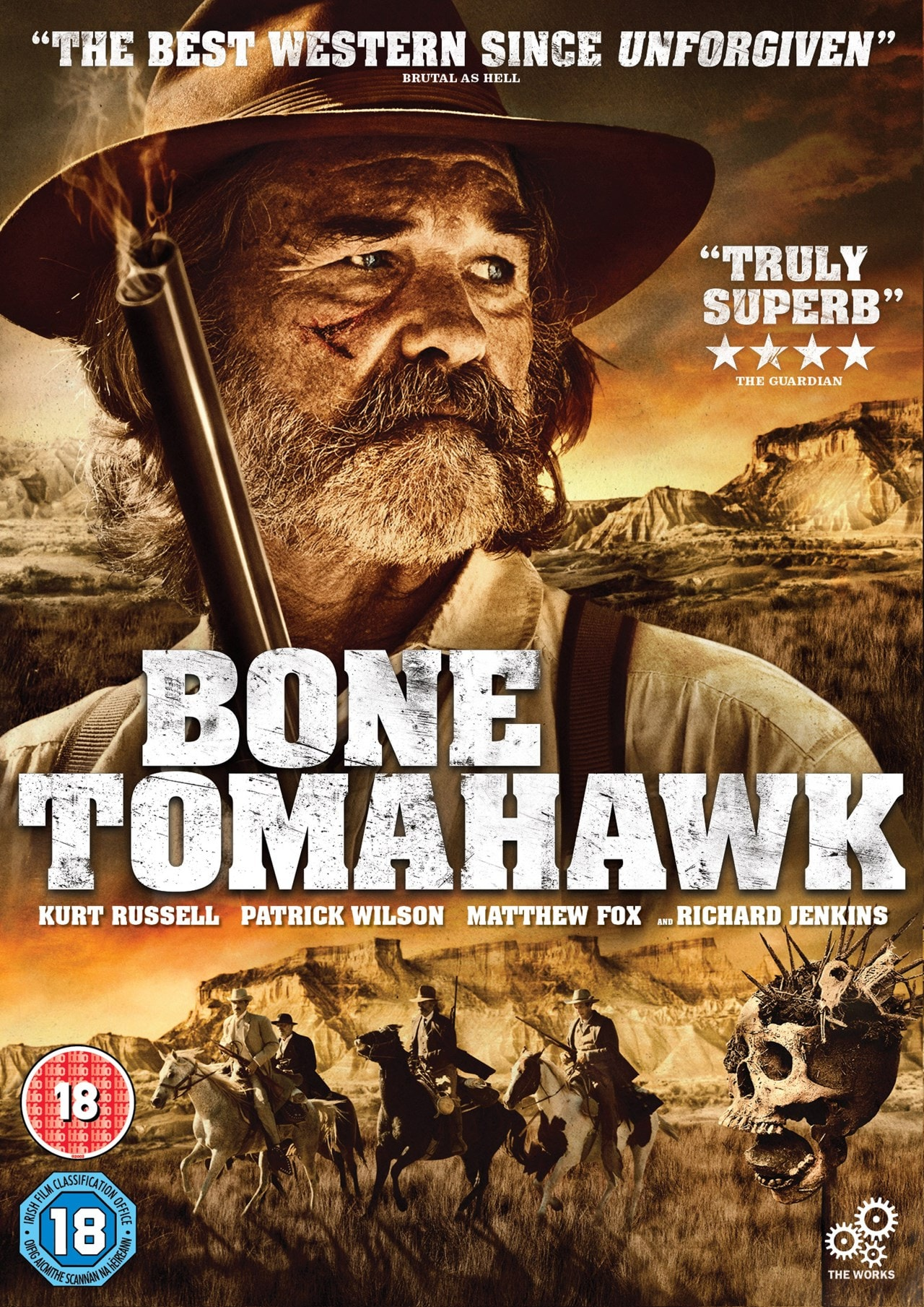 Bone Tomahawk DVD Free shipping over £20 HMV Store