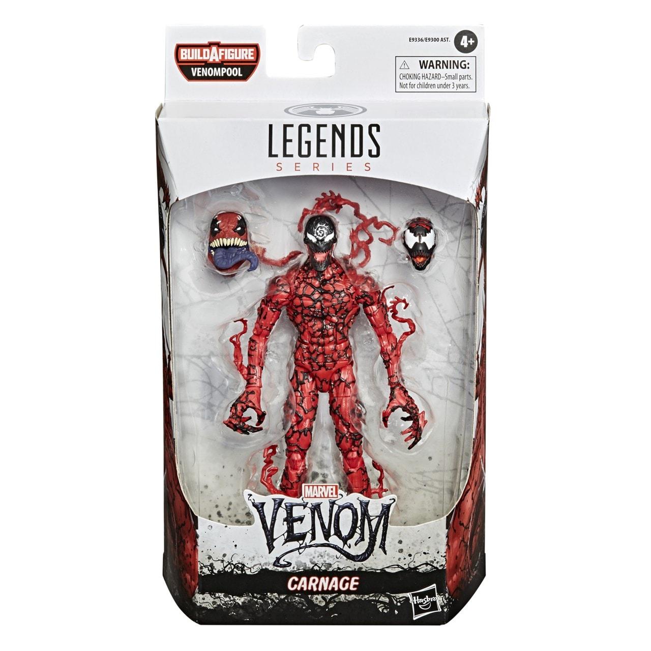 Marvel Legends: Carnage (Venom) Action Figure - 4