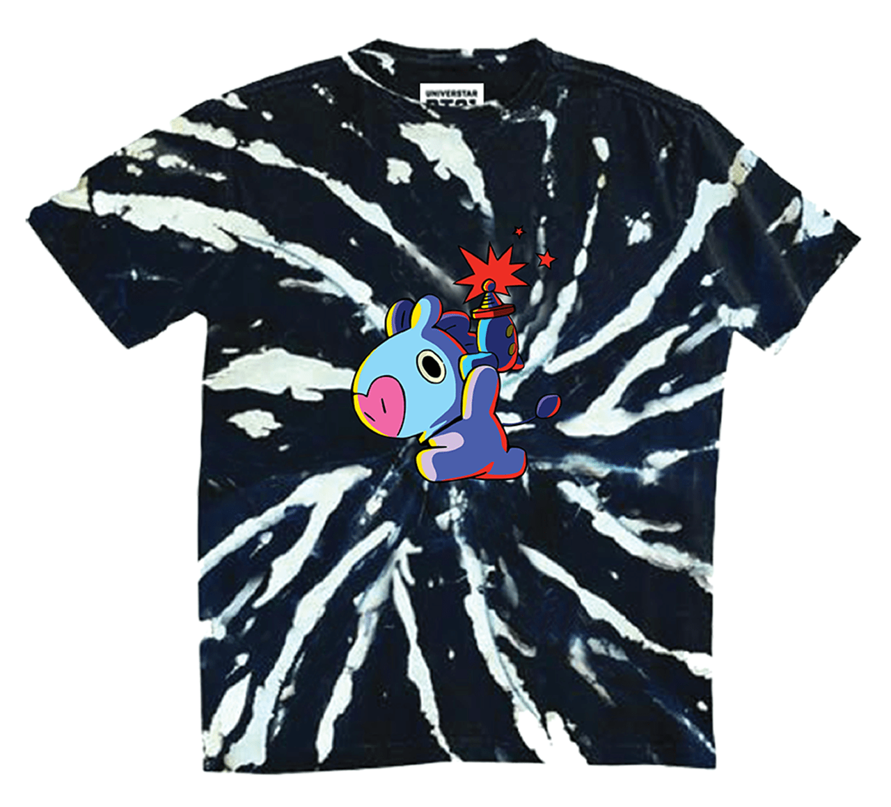 BT21 Mang: Tie Dye Space Squad (Small) - 1