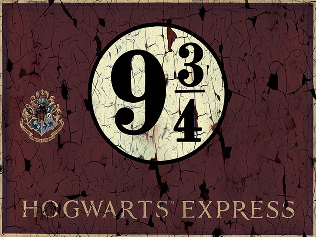 Hogwarts Express: Harry Potter Canvas Print - 1