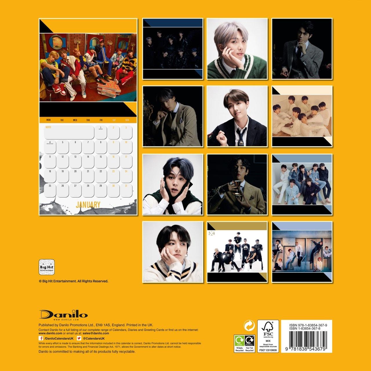 BTS: Square 2021 Calendar - 3