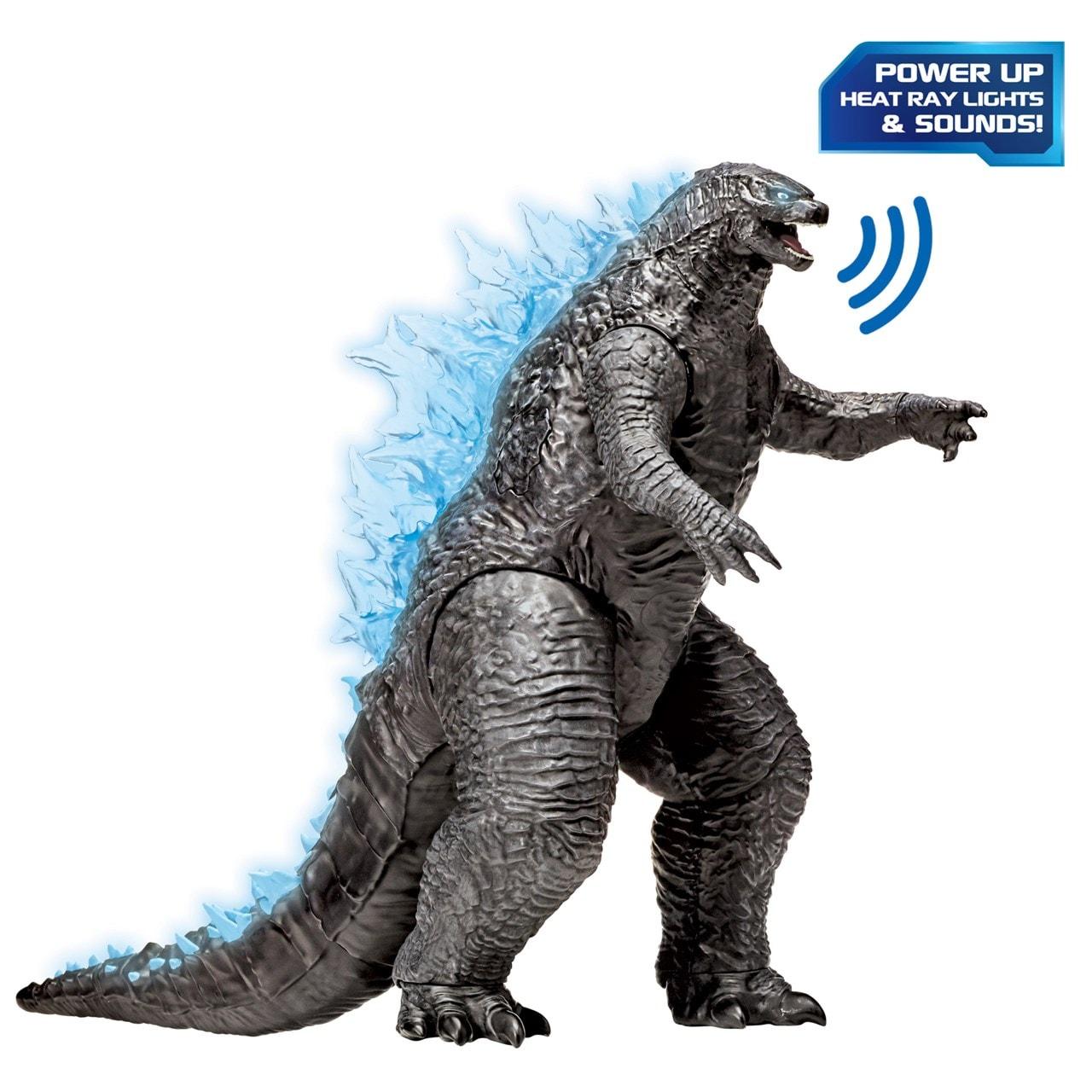 Monsterverse Godzilla vs Kong: Mega Godzilla with Lights & Sounds Action Figure - 1