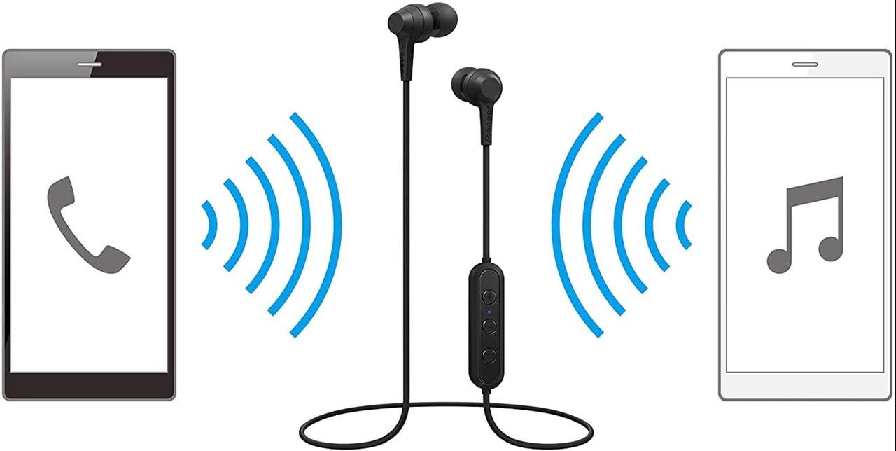 Pioneer C4 Black Bluetooth Earphones - 4