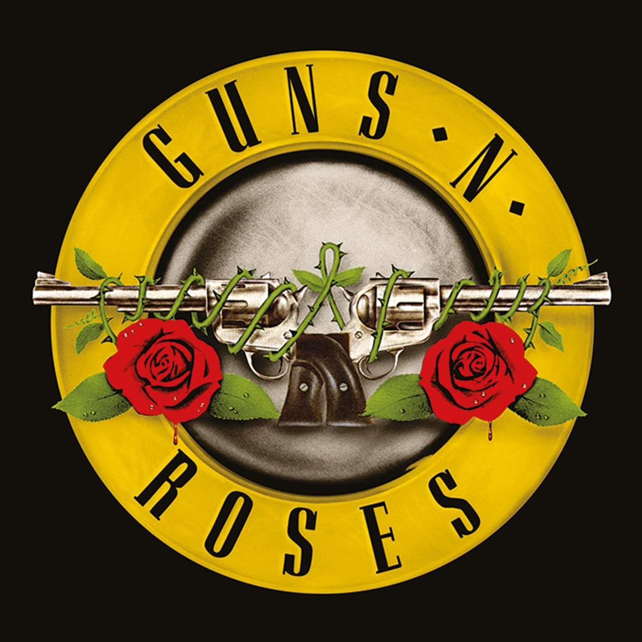 Guns N' Roses: Bullet Logo Canvas Print - 1