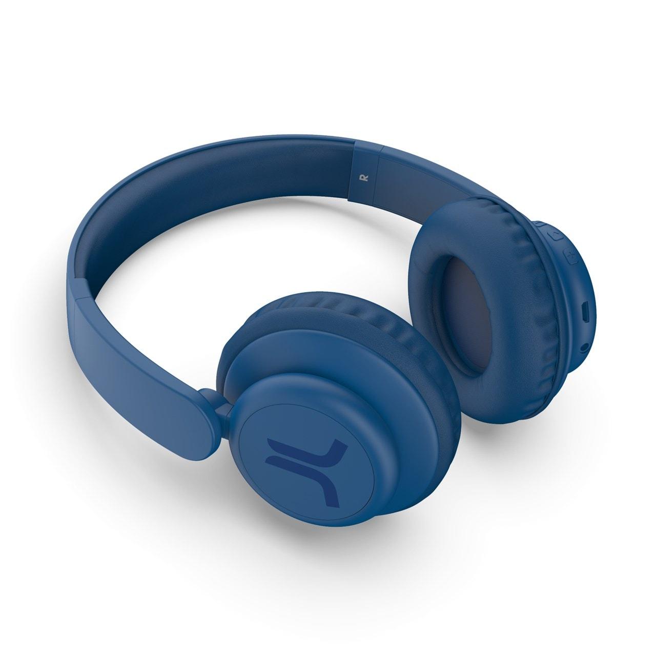 WeSC Navy Blue Bluetooth Headphones - 2