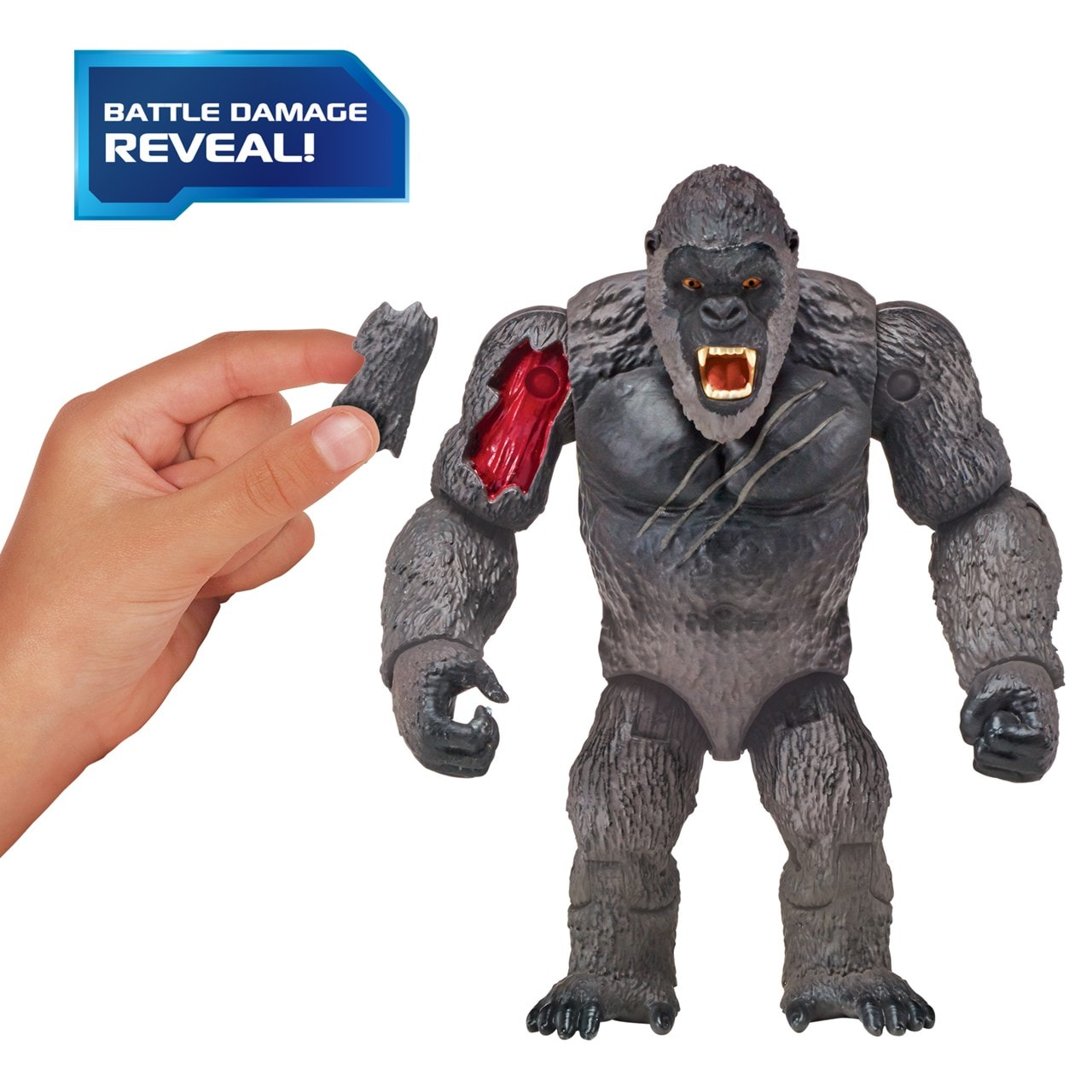 Monsterverse Godzilla vs Kong: King Kong with Axe Action Figure - 2