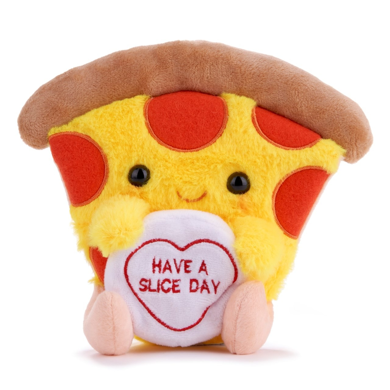 Patrick the Pizza: Swizzles Love Hearts Collection Plush Toy - 1