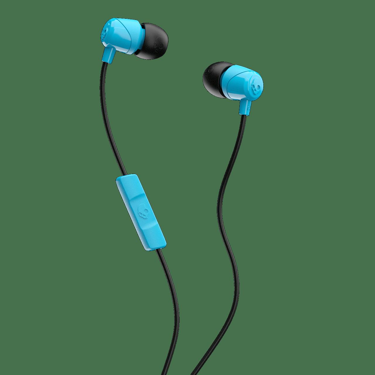 Skullcandy Jib Blue/Black Earphones W/Mic - 1
