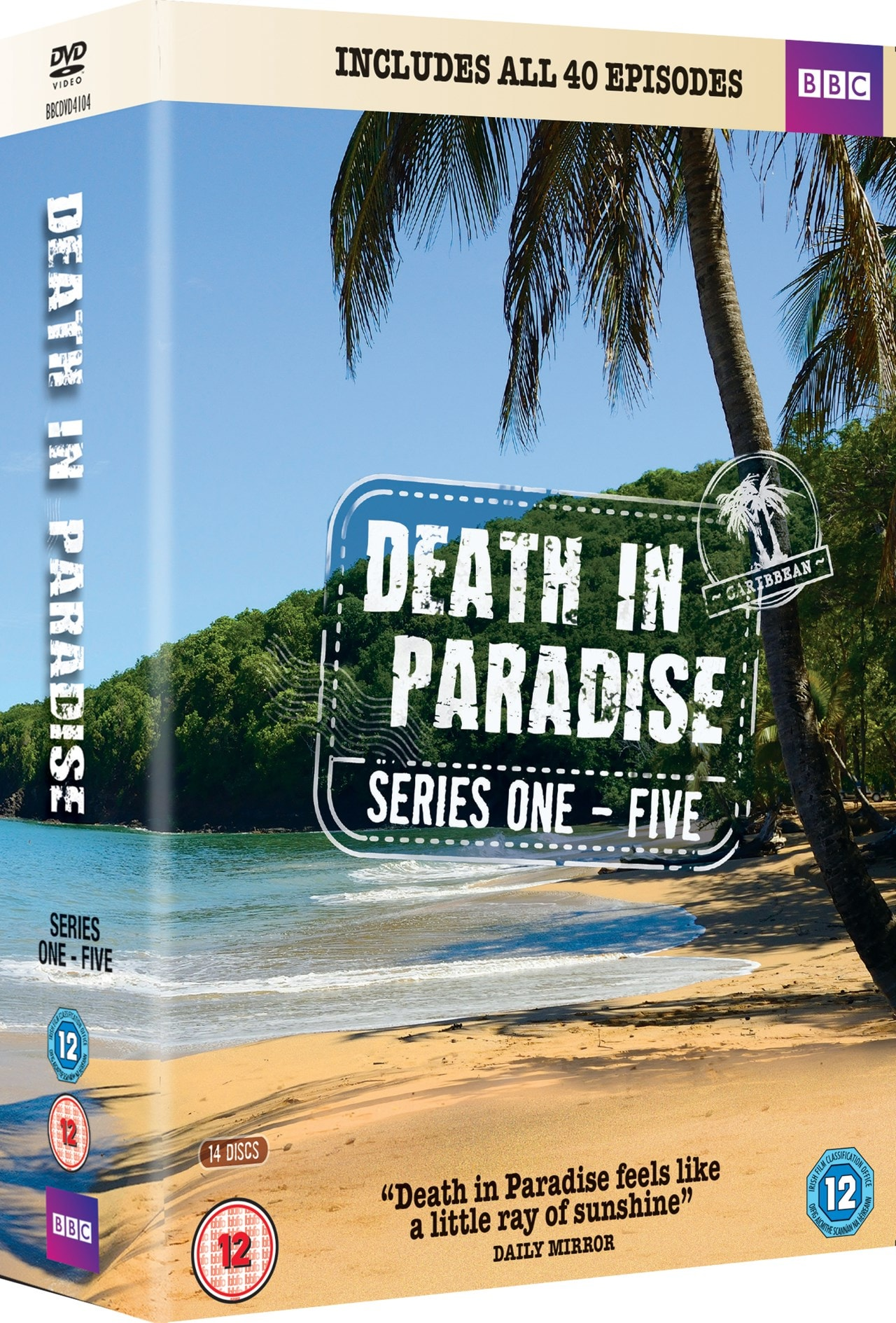 Death in Paradise: Series 1-5 - 2
