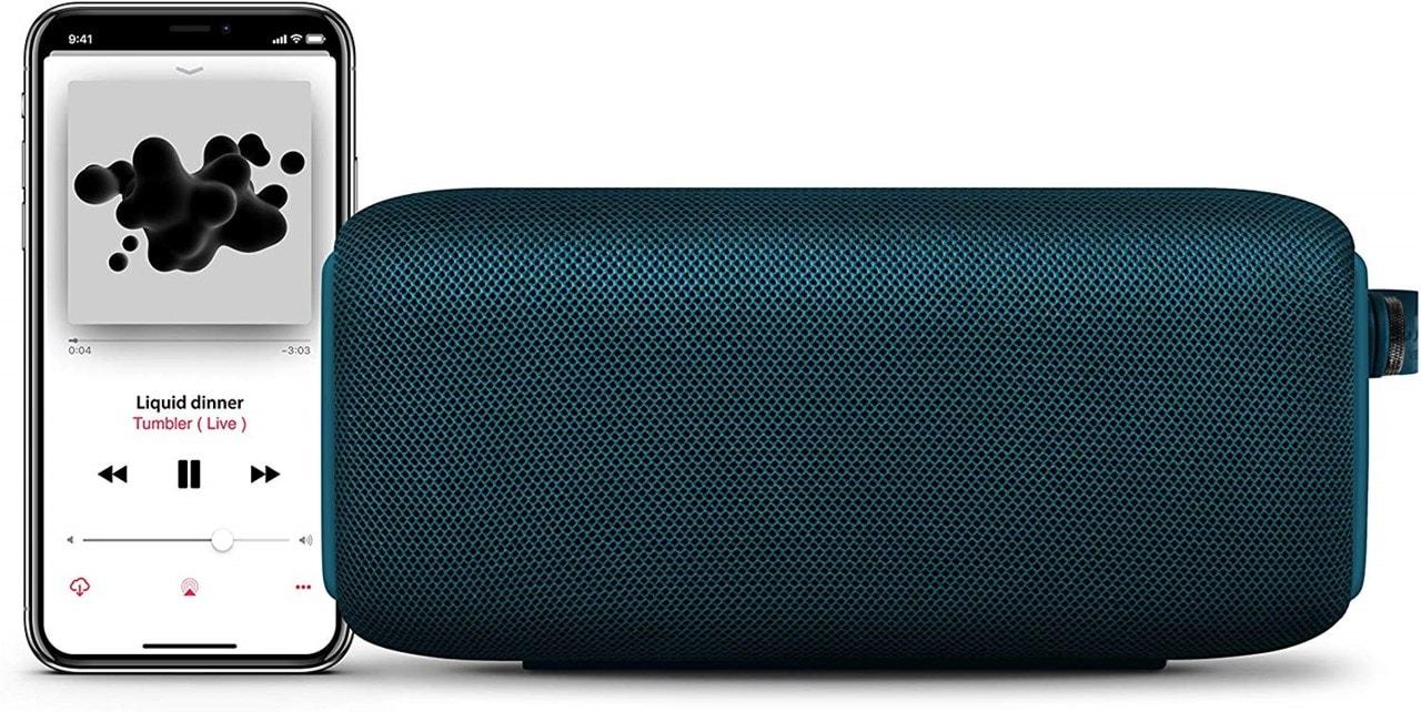 Fresh n Rebel Bold M Petrol Blue Bluetooth Speaker - 2