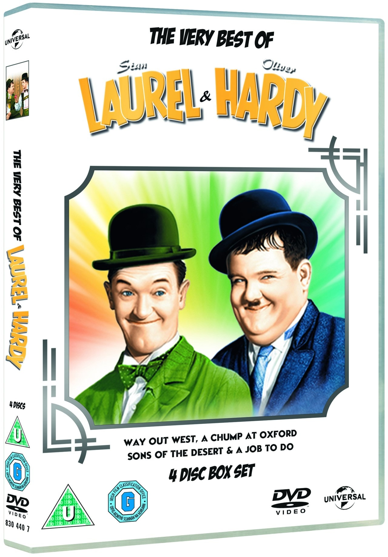 The Very Best of Laurel and Hardy - 2