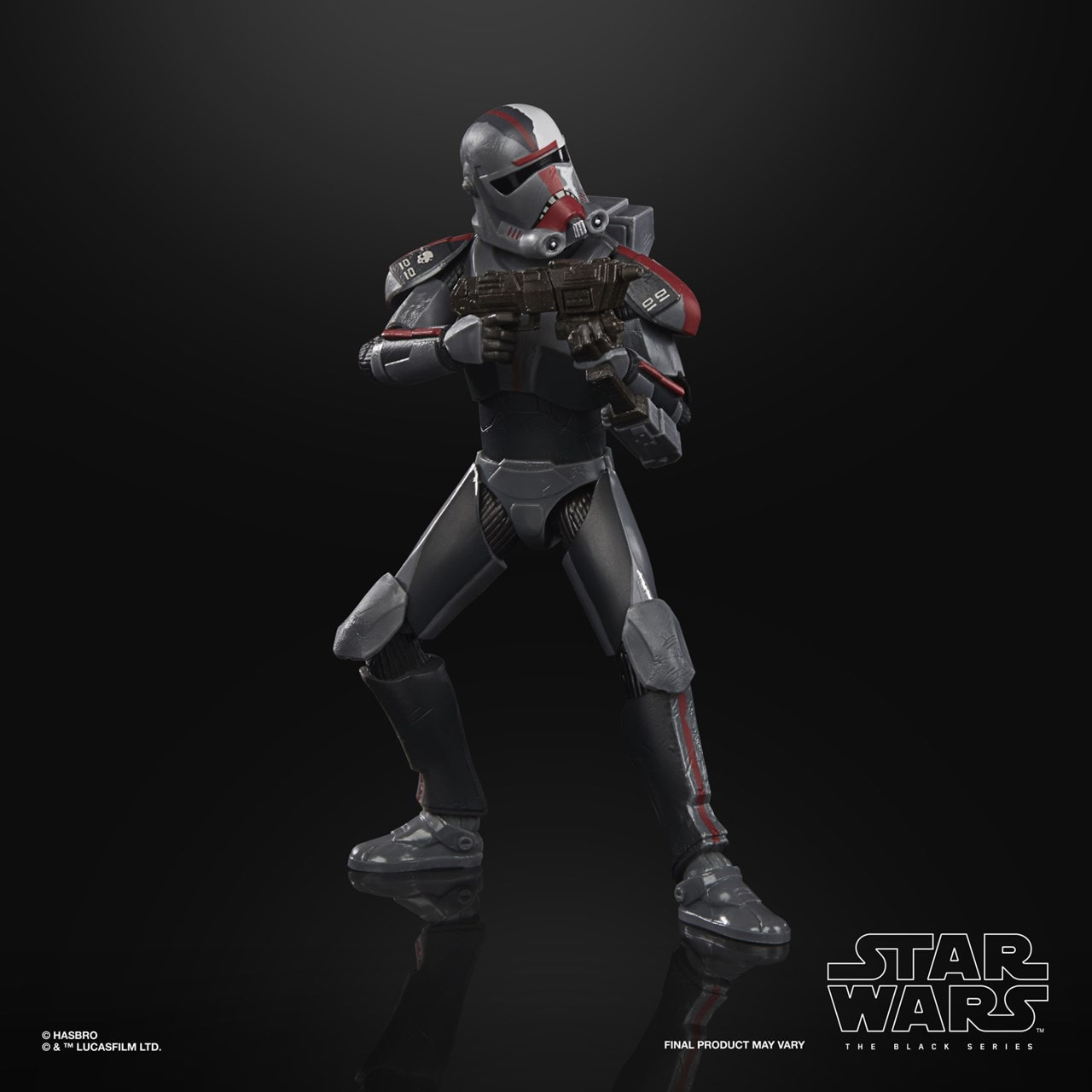 Bad Batch Hunter: Clone Wars: Star Wars Black Series Action Figure - 2