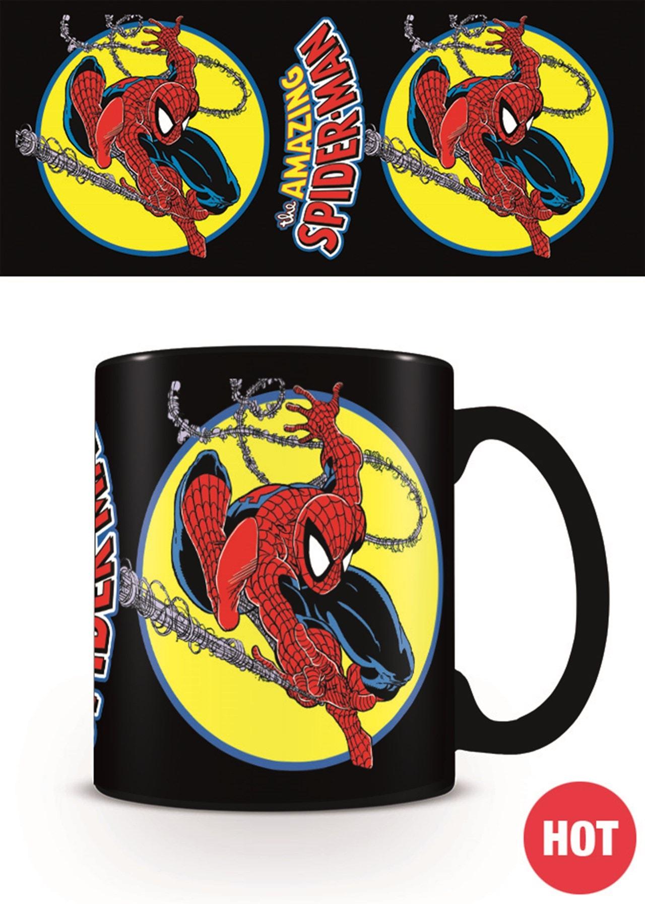 Marvel Comics: Spiderman Iconic Issue Heat Changing Mug - 1