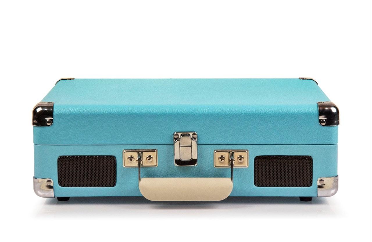 Crosley Cruiser Deluxe Turquoise Turntable - 3