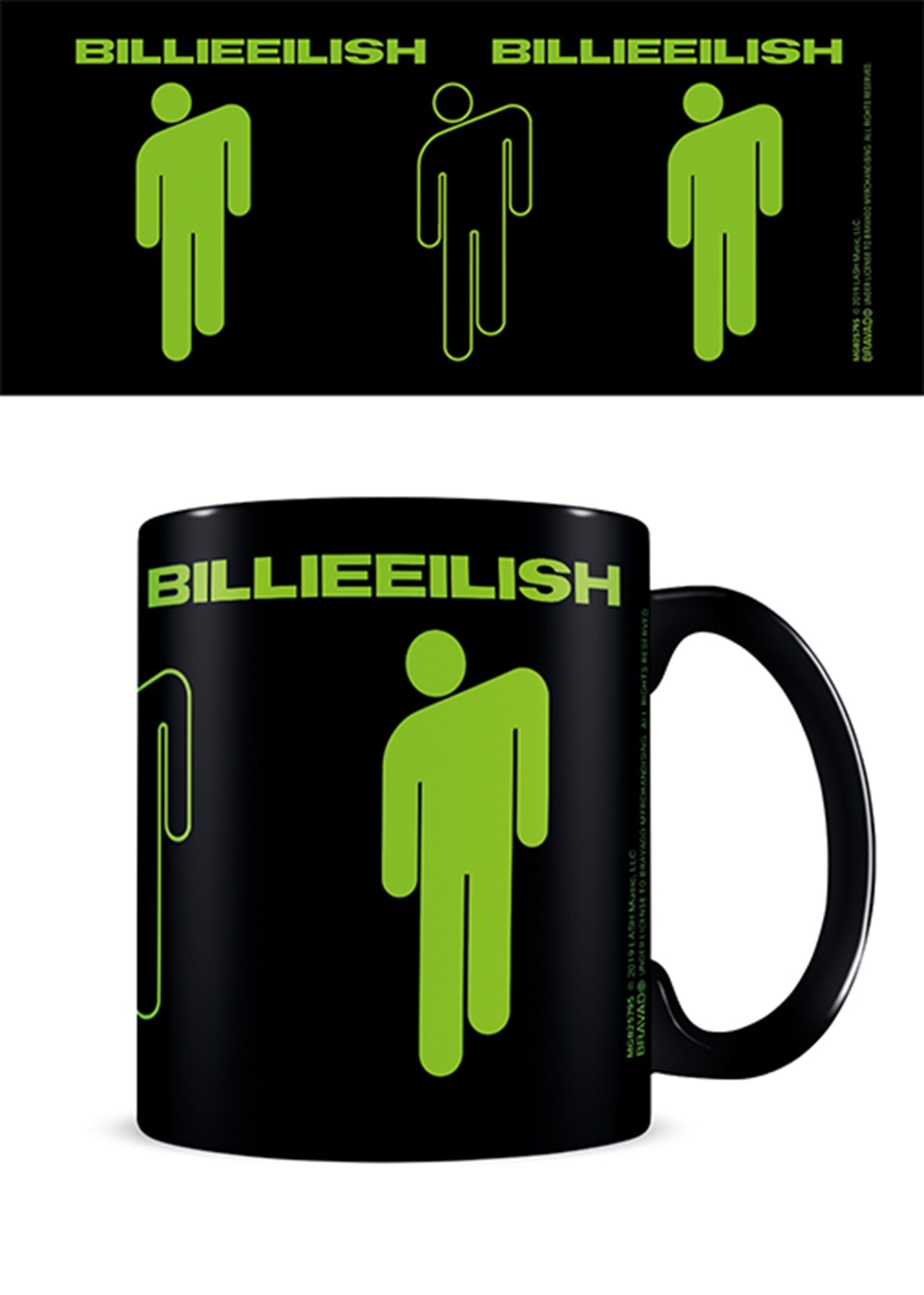 Billie Eilish Stickman Coffee Mug - 1