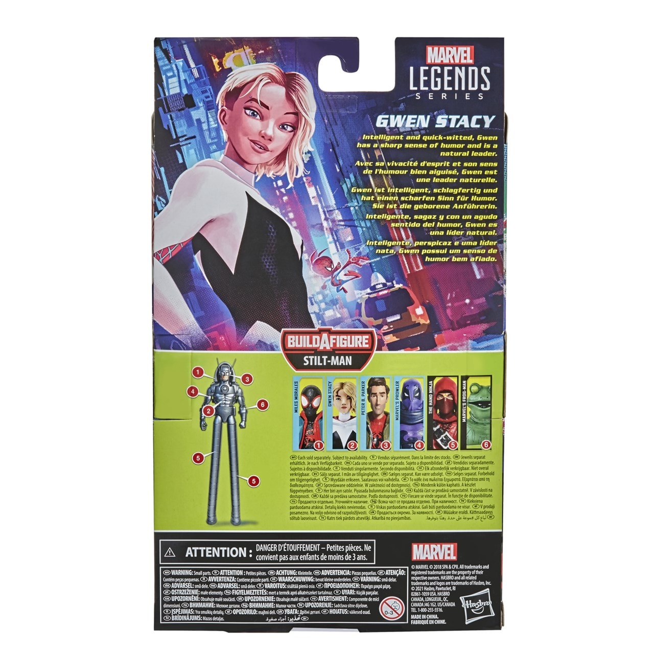 Gwen Stacy: Spider-Man: Into The Spider-Verse Marvel Action Figure - 3