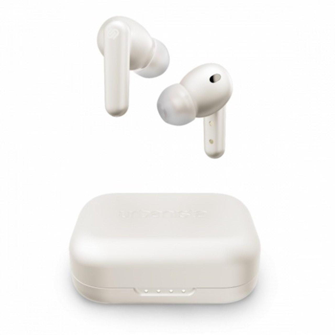 Urbanista London White Pearl True Wireless Active Noise Cancelling Bluetooth Earphones - 1