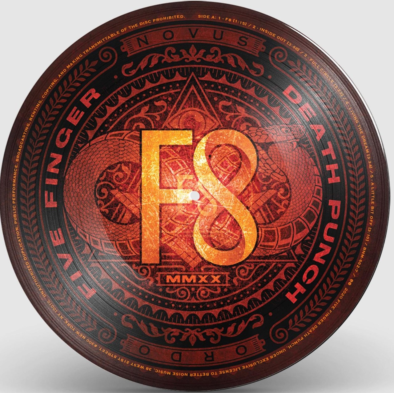 F8 - Limited Edition Picture Disc - 1