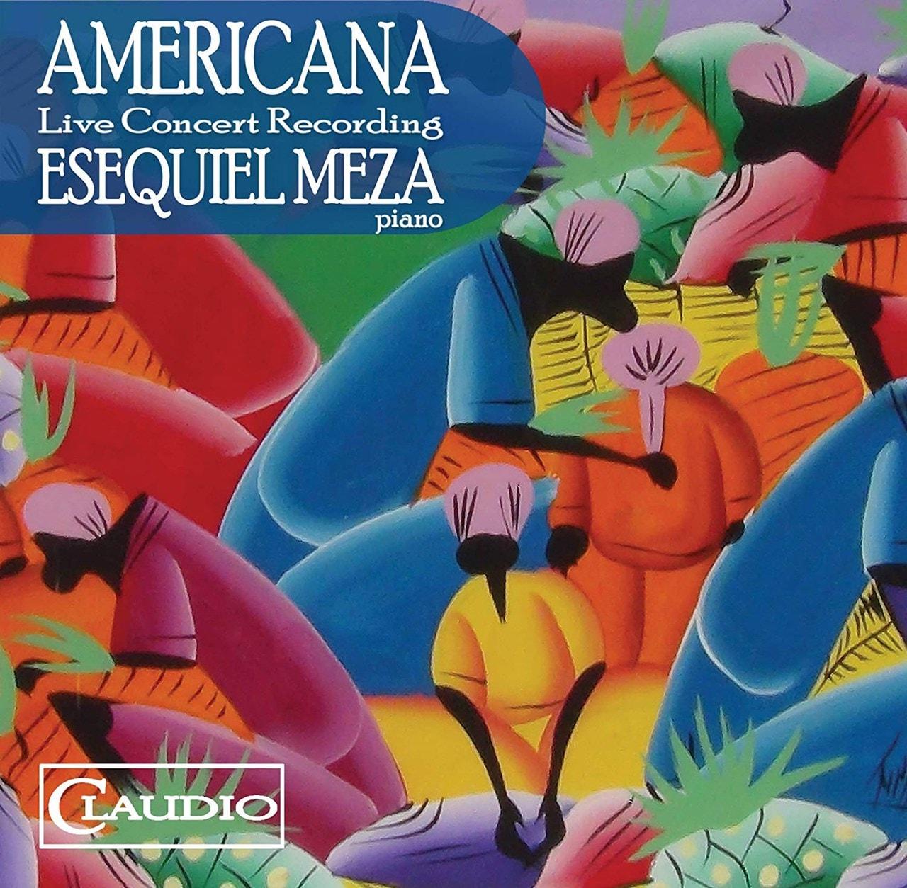 Esequiel Meza: Americana - 1