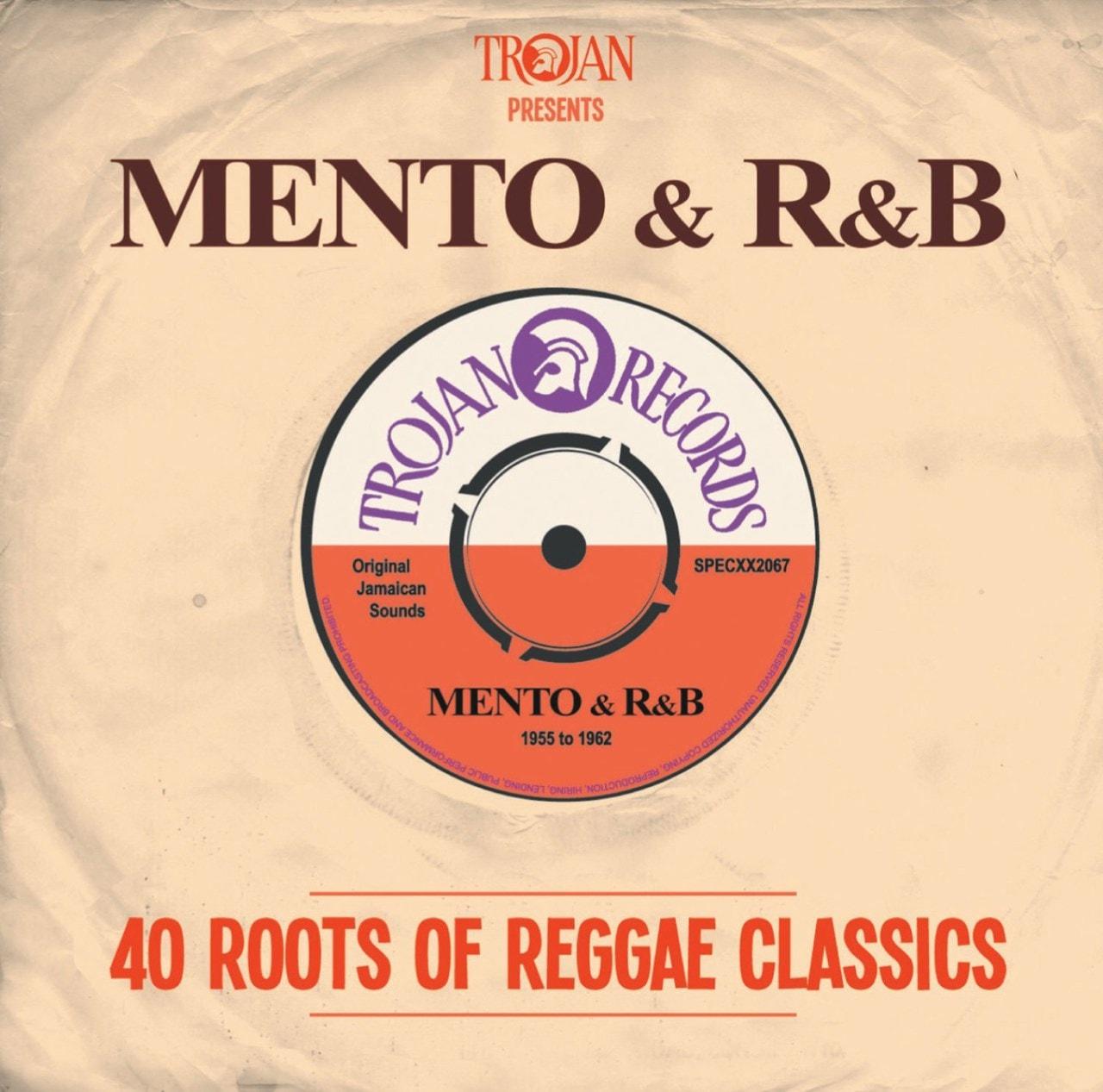 Trojan Presents... Mento & R&B: 40 Roots of Reggae Classics - 1