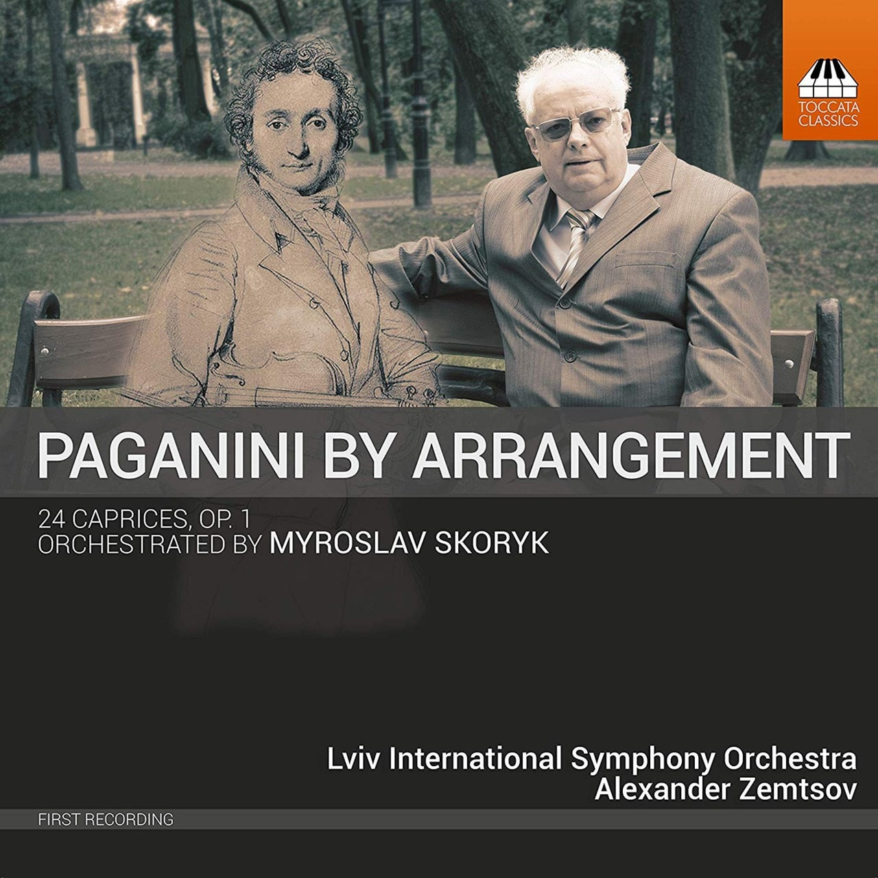 Paganini By Arrangement: 24 Caprices, Op. 1: Orchestrated By Myroslav Skoryk - 1