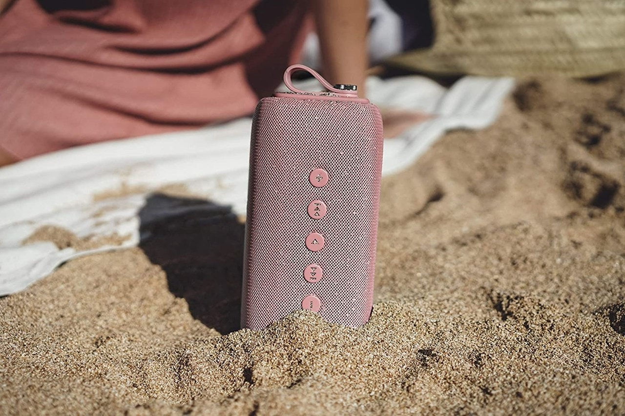 Fresh N Rebel Bold M Dusty Pink Bluetooth Speaker - 3