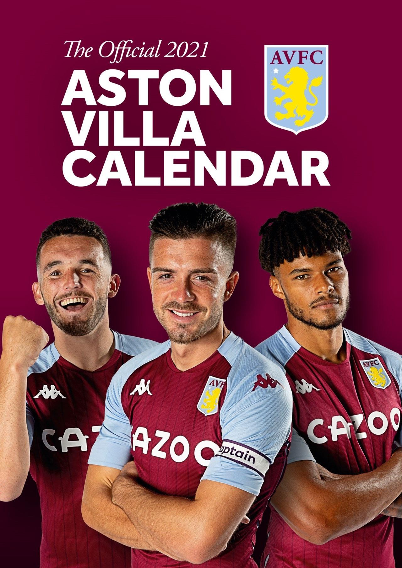Aston Villa FC: Football A3 2021 Calendar - 1