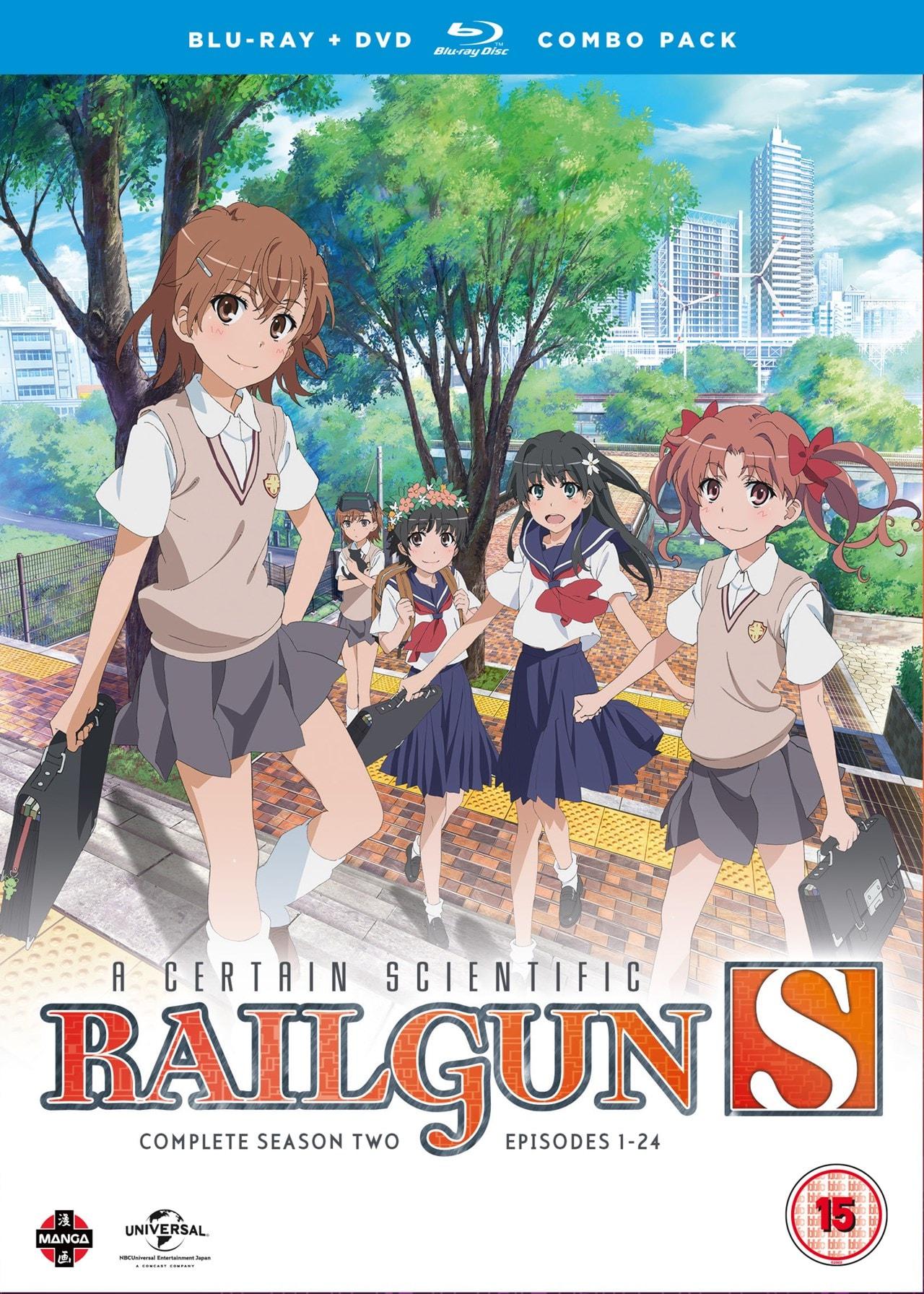 A Certain Scientific Railgun S: Complete Season 2 - 1