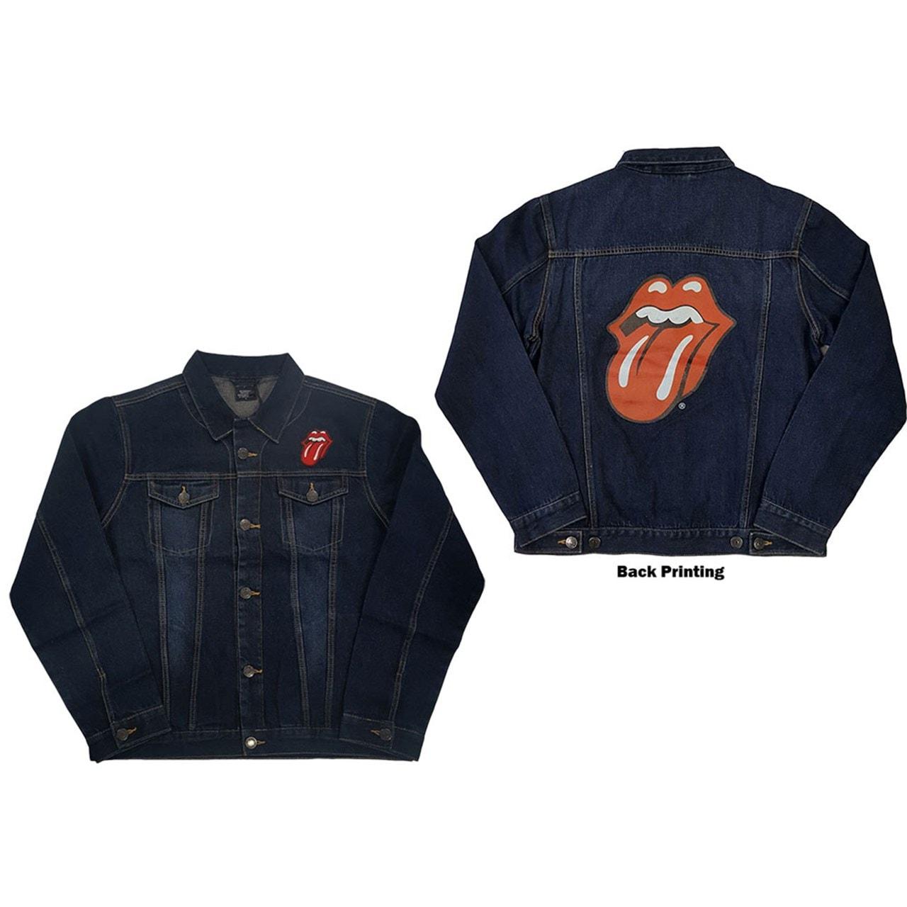 Rolling Stones Classic Tongue Denim Jacket (Small) - 1